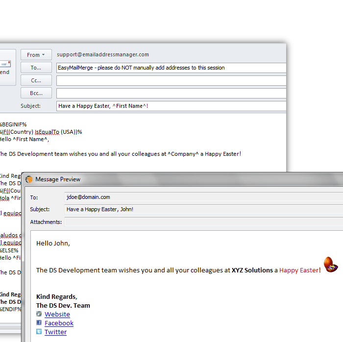 Personalize & Send Mass Emails from Outlook