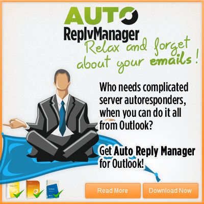 how to use auto reply on outlook
