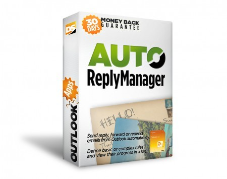 Click to view Auto Reply Manager Outlook Autoresponder 2.0.121 screenshot