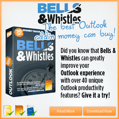 Bells & Whistles Outlook Add-in