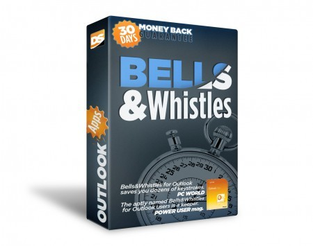 Click to view Bells and Whistles Outlook add in screenshots