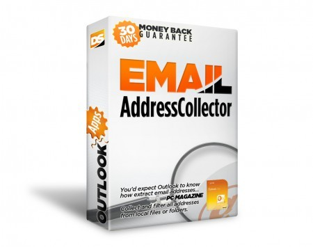 Email Address Collector Screen shot