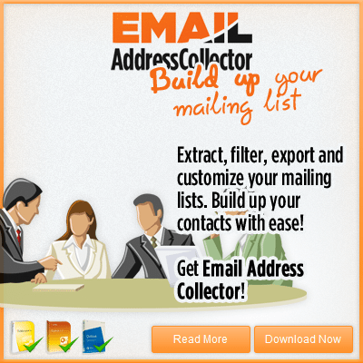 Extract Email Addresses from Anywhere!