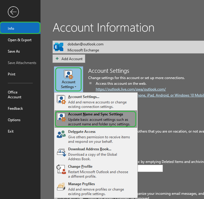 fix-Outlook-offline