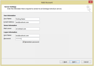 how to add my hotmail account to outlook 2007