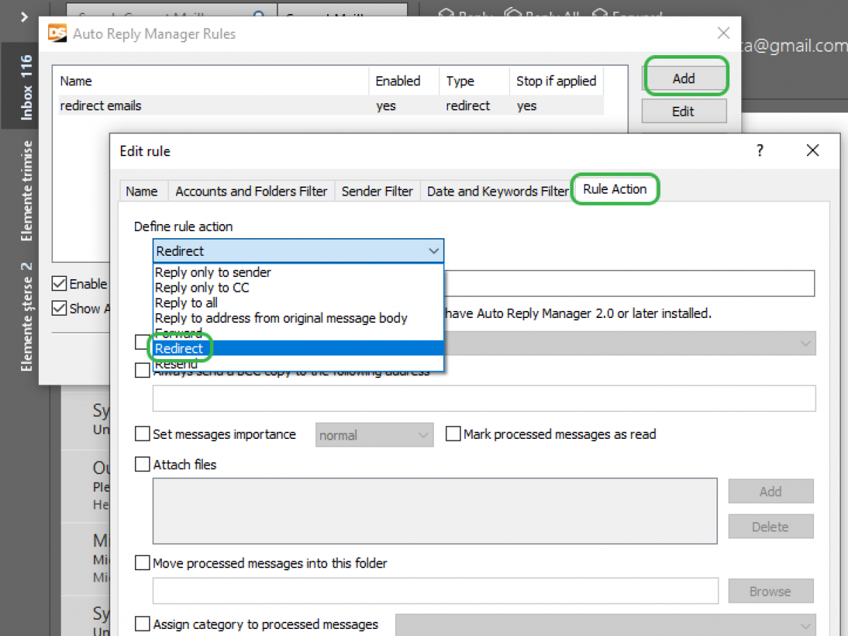 How to Redirect Emails in Outlook