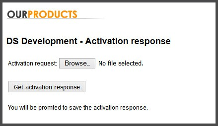 Response file