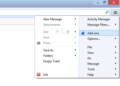 Email Address Collector and Thunderbird